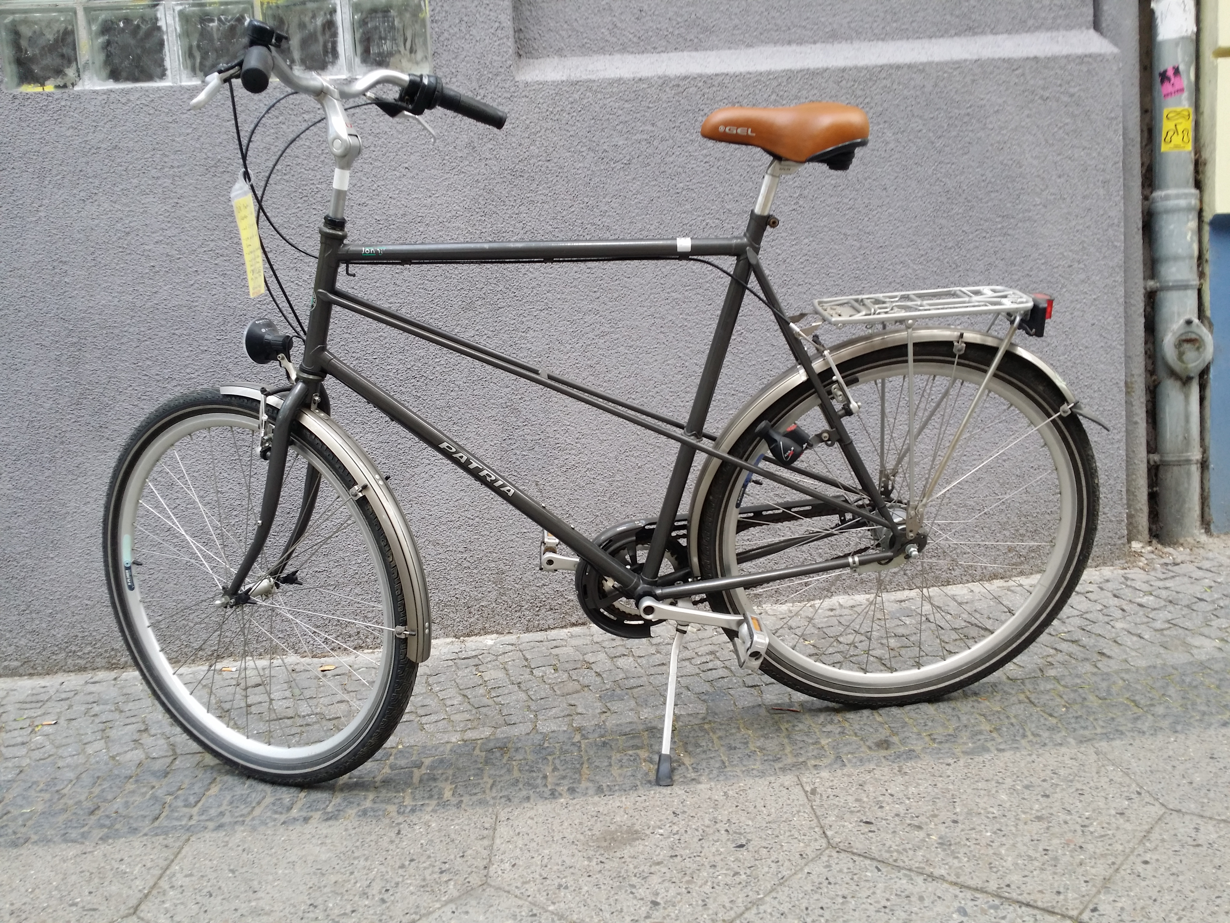 Fahrrad mit besonders großen Rahmen