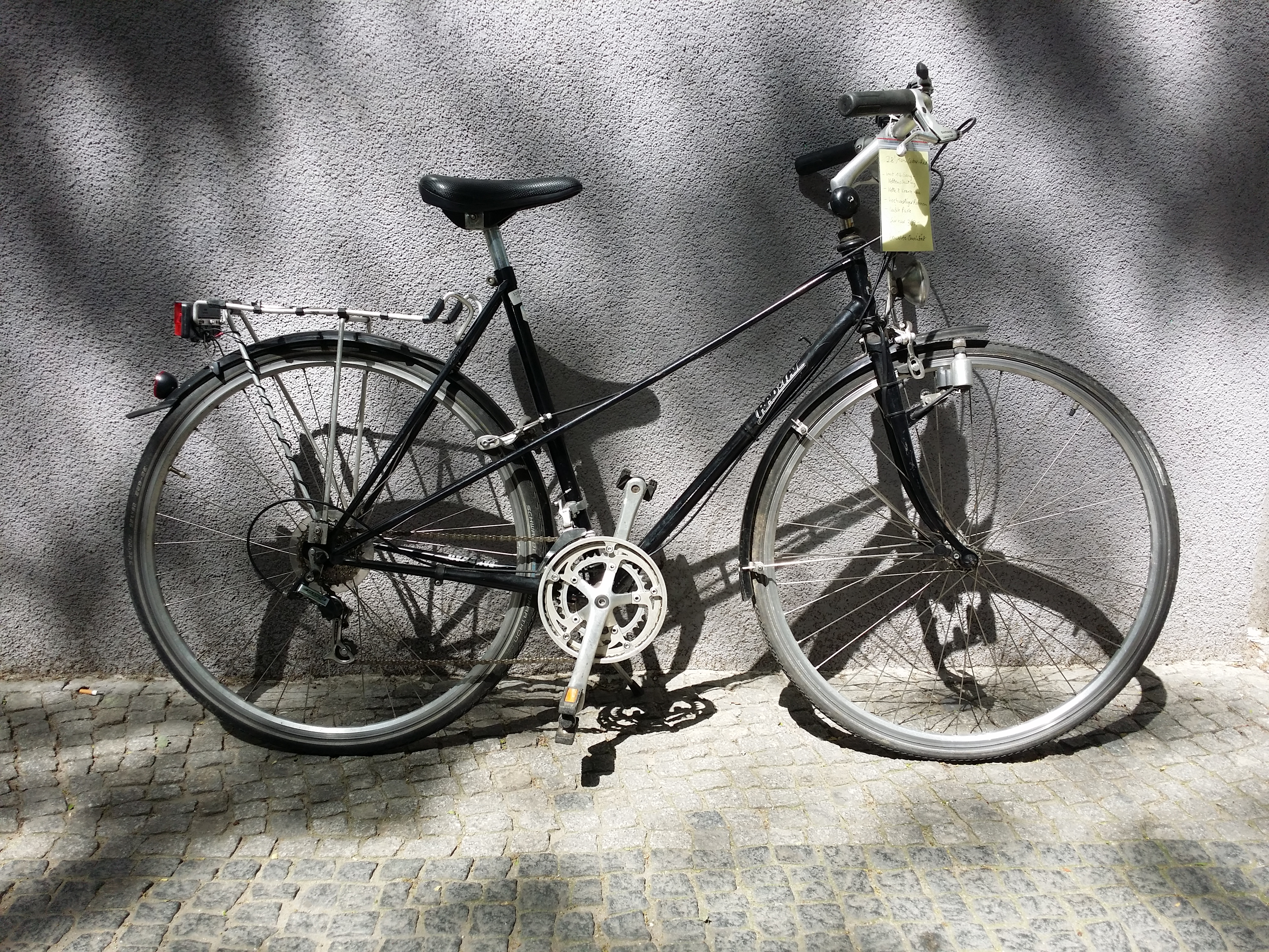 gebrauchtes Damenrad von der Fahrradmanufaktur