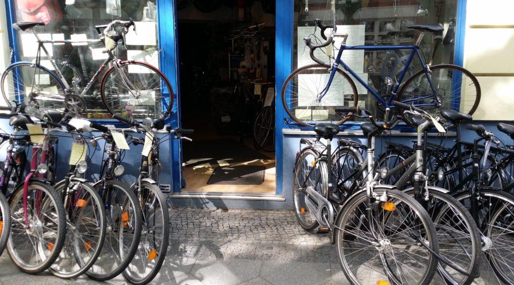 Eingang Fahrradladen Mobilcenter