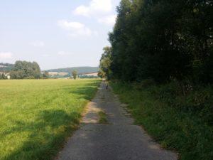 Die Strecke am Pfordter See