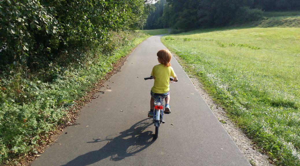 Sicher radfahren mit Kindern