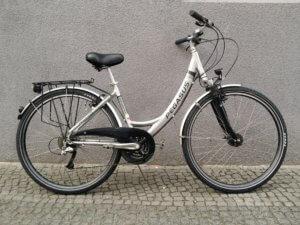 Tiefeinsteiger Fahrrad, gebraucht