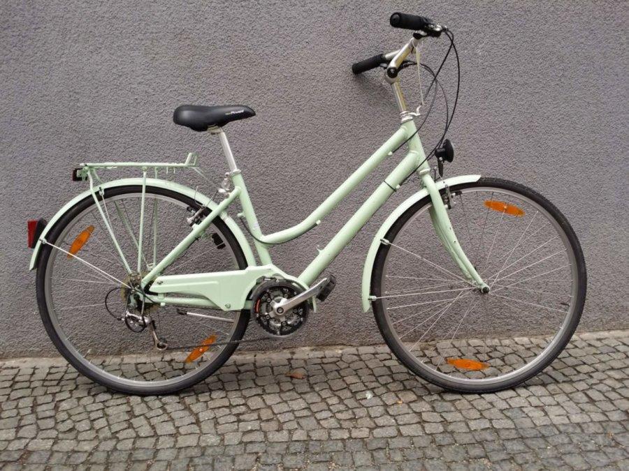gut erhaltenes Damenrad