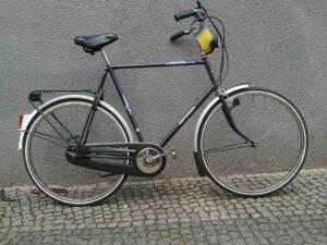 Großes Holland-Herrenrad