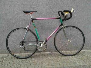 Rennrad, großer Stahlrahmen, gebraucht