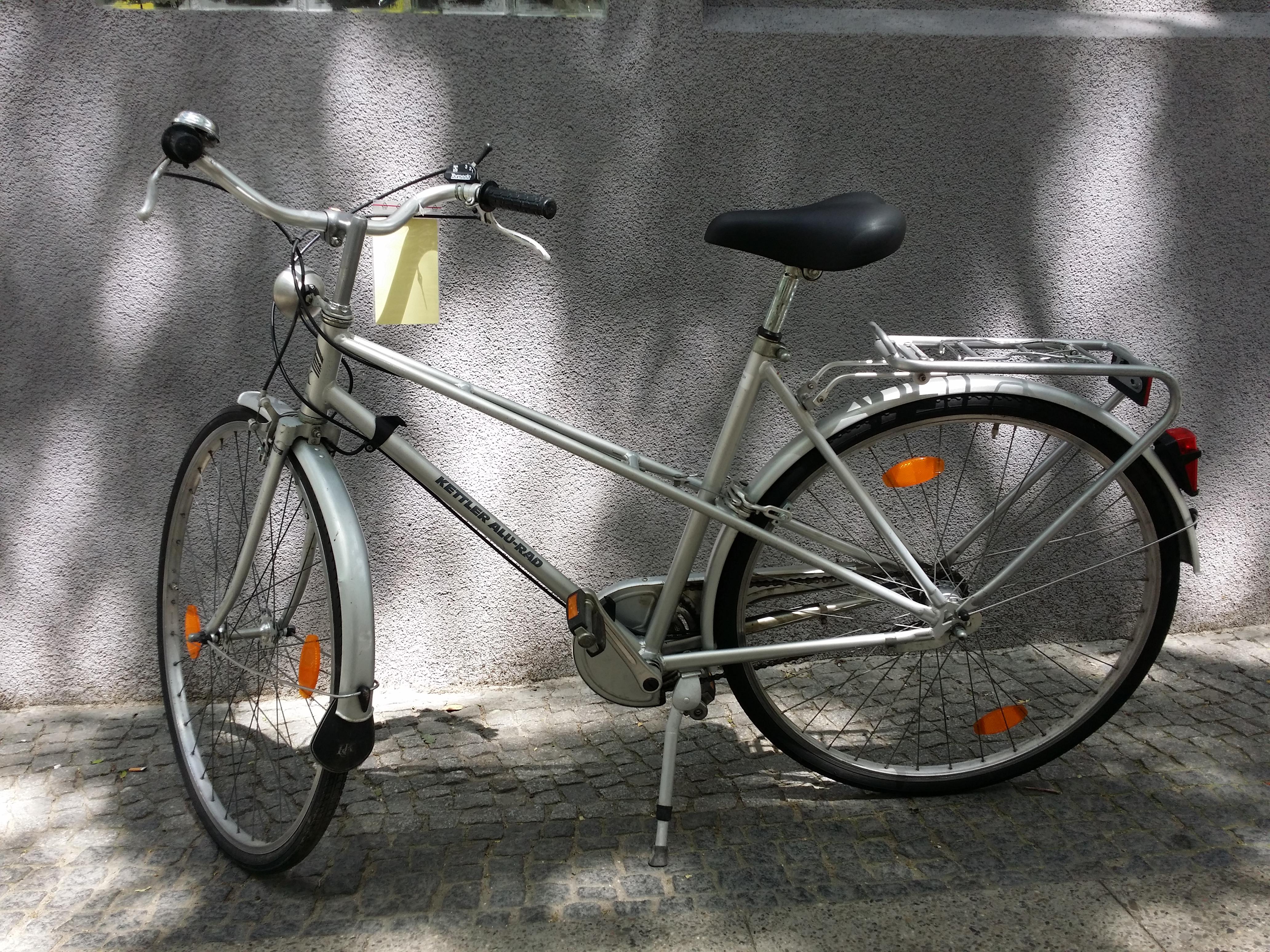 silbernes Damenrad von Kettler