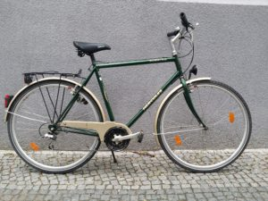 Grünes Herrenrad