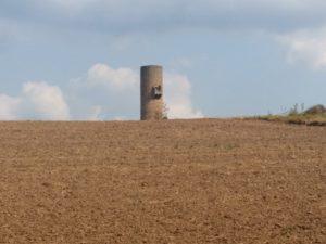 Der alte Wachturm der Lüdermunder Warte