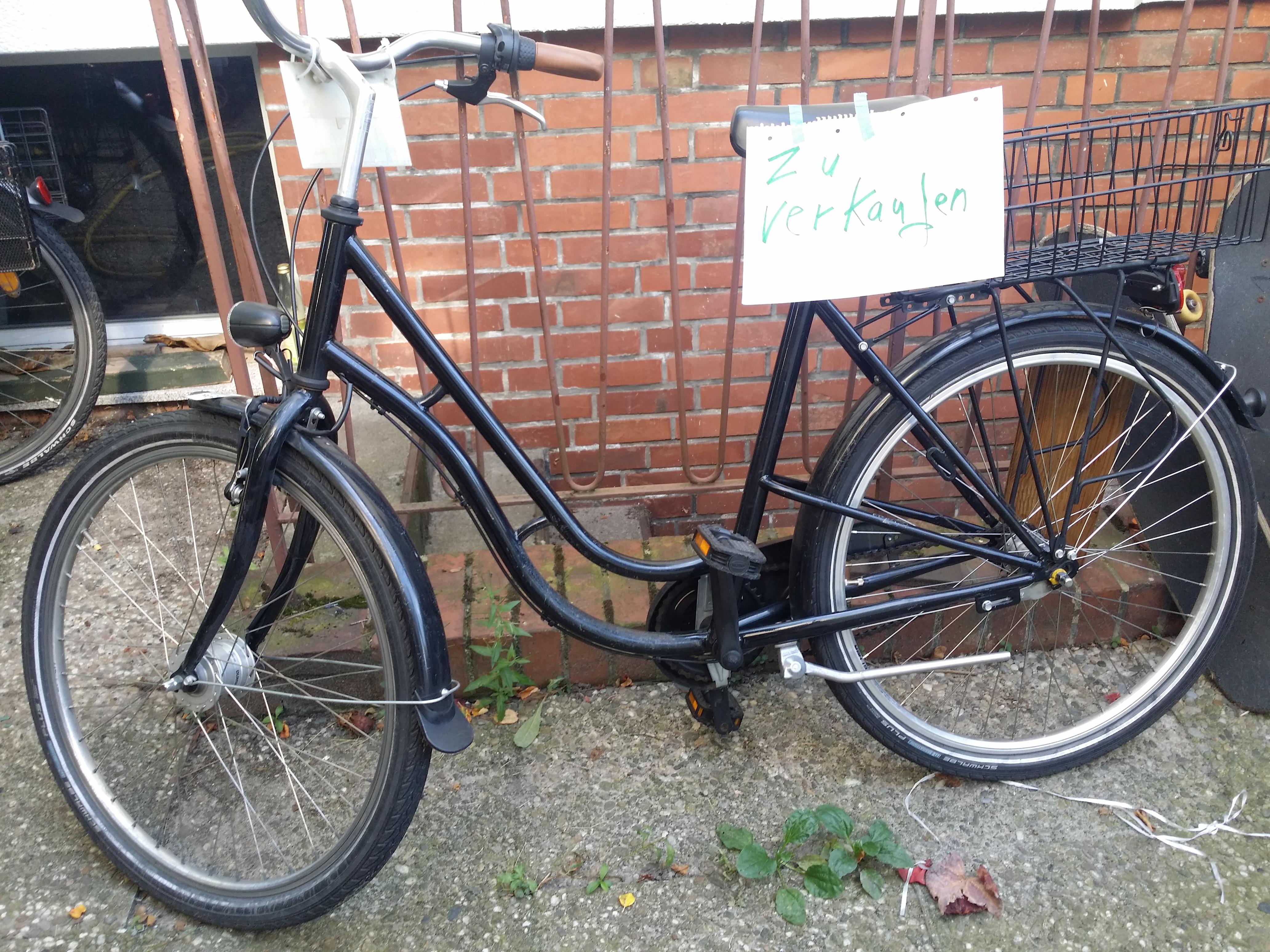 Kaufvertrag für ein gebrauchtes Fahrrad - Checkliste